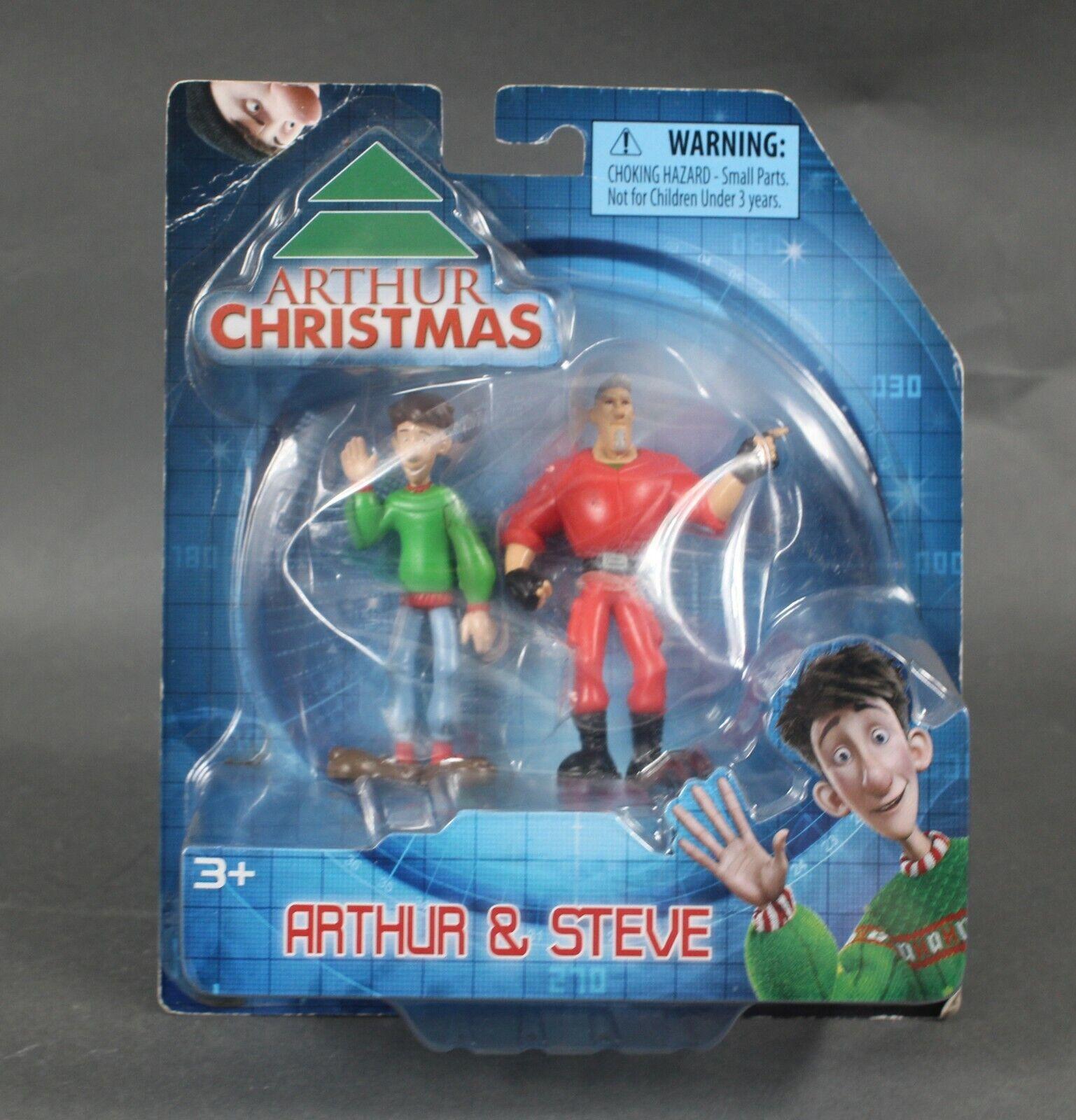 Bridge Direct Arthur Christmas 2011 Arthur Steve Action Figures 1040u For Sale Online Ebay