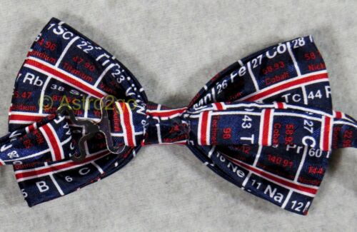 PERIODIC TABLE OF THE ELEMENTS CHEMISTRY SCIENCE TEACHER Steven Harris bow tie