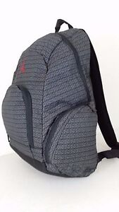 852f320dc153 NWT NIKE JORDAN Jumpman Backpack Black Graphite Logo Laptop Book Bag ...