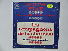 edith PIAF Noel de la rue / COMPAGNONS DE LE CHANSON Douce nuit CF172