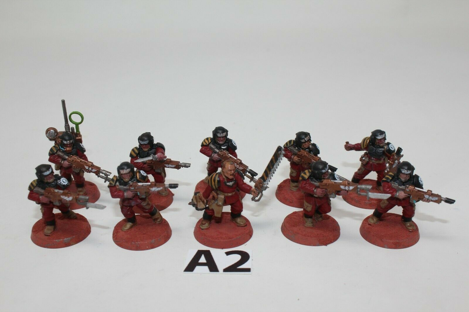 Warhammer Guardia Imperial cadain Shock Troopers-A2