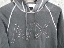 ARMANI EXCHANGE | AX Grey Comfy Hoodie Extra Small