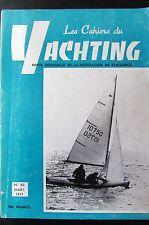 BATEAUX VOILES PLAISANCE LES CAHIERS DU YACHTING N° 88 de 1959 PLAN CASARCA II