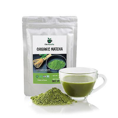 100% Pure Organic Matcha Green Tea Powder 200g_Deep Flavor, USDA, EU certified