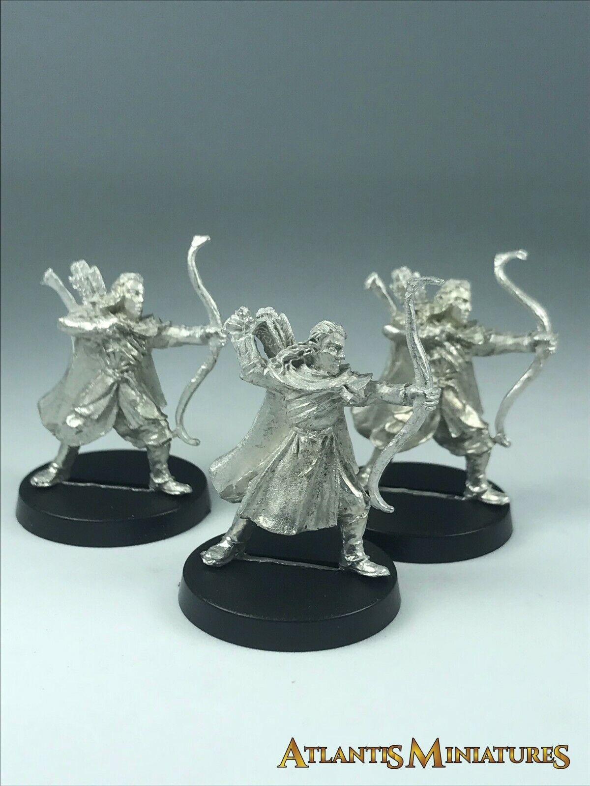 Metal Lothorien Bowmen X3 - OOP - LOTR   Warhammer   Lord of the Rings X494