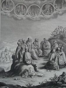Jesus-Christ-Speeches-de-Jesus-on-the-Mountain-Gravure-of-1863