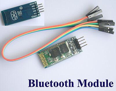Bluetooth Module Slave RF Wireless Serial + 4p Port For Arduino 2560 UNO R3 A062