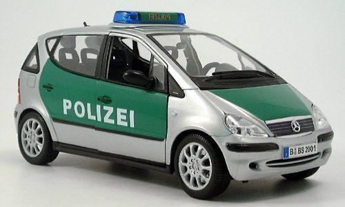 Mercedes - benz eine classe polizei polizei maisto 1   18 18 klasse klasse