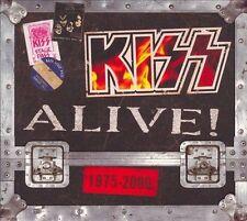 KISS Alive! 1975-2000 4CD BRAND NEW Alive I II III & Millennium Concert 2000
