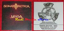 ADESIVO STICKER SONATA ARCTICA Unia 10.5X10.5 CM cd dvd lp mc vhs promo live