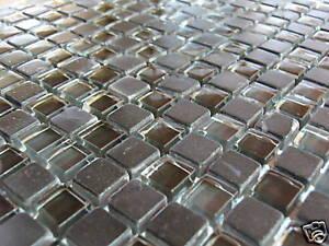 Glasmosaik Naturstein Marmor Fliesen Schwarz Mix 1qm Ebay