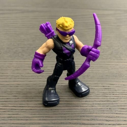 New PlaySkool Heroes Hawkeye Marvel Super Hero Avengers Jungle Squad figure toy