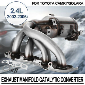 For-Toyota-Camry-2-4L-L4-Manifold-Catalytic-Converter-02-06-Direct-Fit-EPA-OBDII