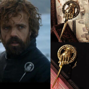 Game-of-Thrones-Hand-of-The-King-Brooch-Metal-Alloy-Pin-3D-Badge-Replica-Costume