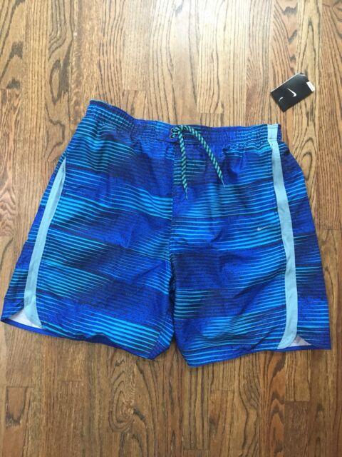 1fef15496f New NWT Nike Swim Trunks Surf Volley Shorts Blue Men's Mens Size 2XL XXL