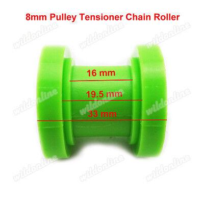 8mm Chain Pulley Roller Tensioner Wheel Guide CRF 50 70 KLX110 TTR Pit Dirt Bike