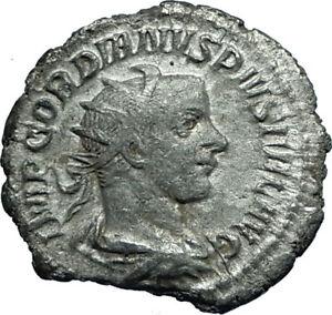 Fortvna Redvx Coins Roman Coin Silver Antoninianus Gordian Iii 238-244 Ad Coins