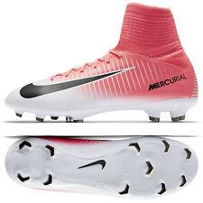 Nike Jr. Mercurial Superfly V FG 831943-601 Pink/Black/White Kids