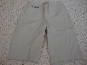 Women-039-s-TALBOTS-khaki-stretch-shorts-4