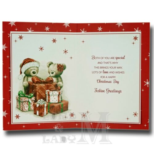 Dad And Partner Girlfriend Various Designs Wife Christmas Cards Step-Mum