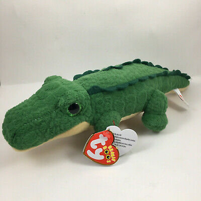 """Ty Beanie Boo SPIKE the Alligator~Store Exclusive 6/"""" MWMTS"""
