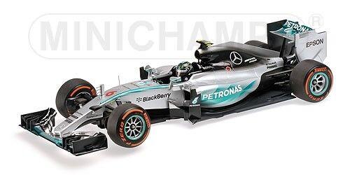 Mercedes Amg W06 Hybrid Nico Rosberg Japanese Gp 2015 Minichamps 1 43 410150206