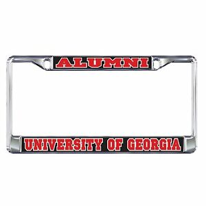 Uga University Of Georgia Quot Alumni Quot License Plate Tag