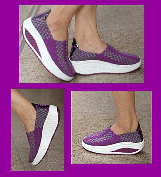 ROLLING SOFT Atmungsaktive Sneakers Gr. 39 ROLLING SOFT schuhe Federleicht lila