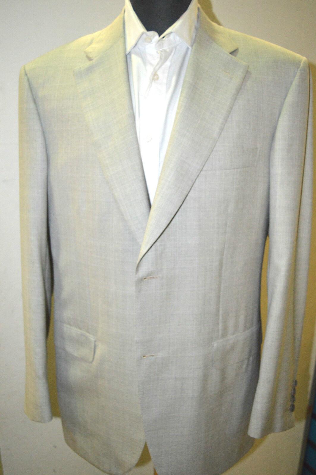 NEW BRIONI   Suit 90% Wool 10% Silk Größe 40 Us 50 Eu 2 BTN  Buttons  (NO31)