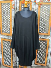 Zeitlos by Luana edles Ballon Kleid Gr.8 in schwarz NEU!!!Lagenlook