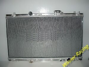 DUAL CORE ALLOY RADIATOR FOR ACURA RSXHONDA INTEGRA DC TYPER K - Acura rsx radiator