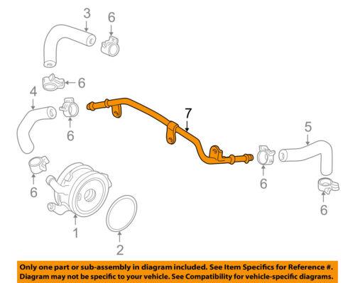 HONDA OEM 04-09 S2000 2.2L-L4 Engine Oil Cooler-Outlet Pipe 19426PCX000