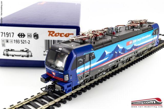 ROCO 71917 - H0 1:87 - E-Lok Elektro 93 521-2, SBB Cargo DCC Sound Ep. VI