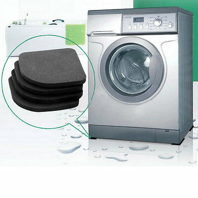 4 pcs Washer Shock Slip Mats Reducing Refrigerator Anti-vibration Noise Pad IT