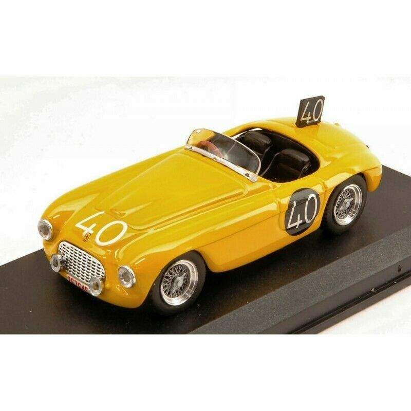 ART MODEL AM0204 FERRARI 166 MM SPIDER N.40 24H SPA 1949 ROOSDORP-DE RIDDER 1 43
