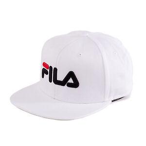 Fila-6Panel-Classic-Casquette-Snapback-Bonnet-blanc-93570