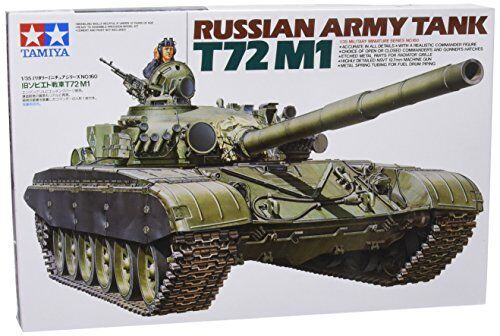 TAMIYA 1/35 Russian Army Tank T-72M1 Model Kit NEW from Japan