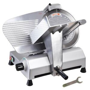 "12"" Commercial SS Blade Meat Slicer Electric Cheese Veggies Deli Food Cutter 270"