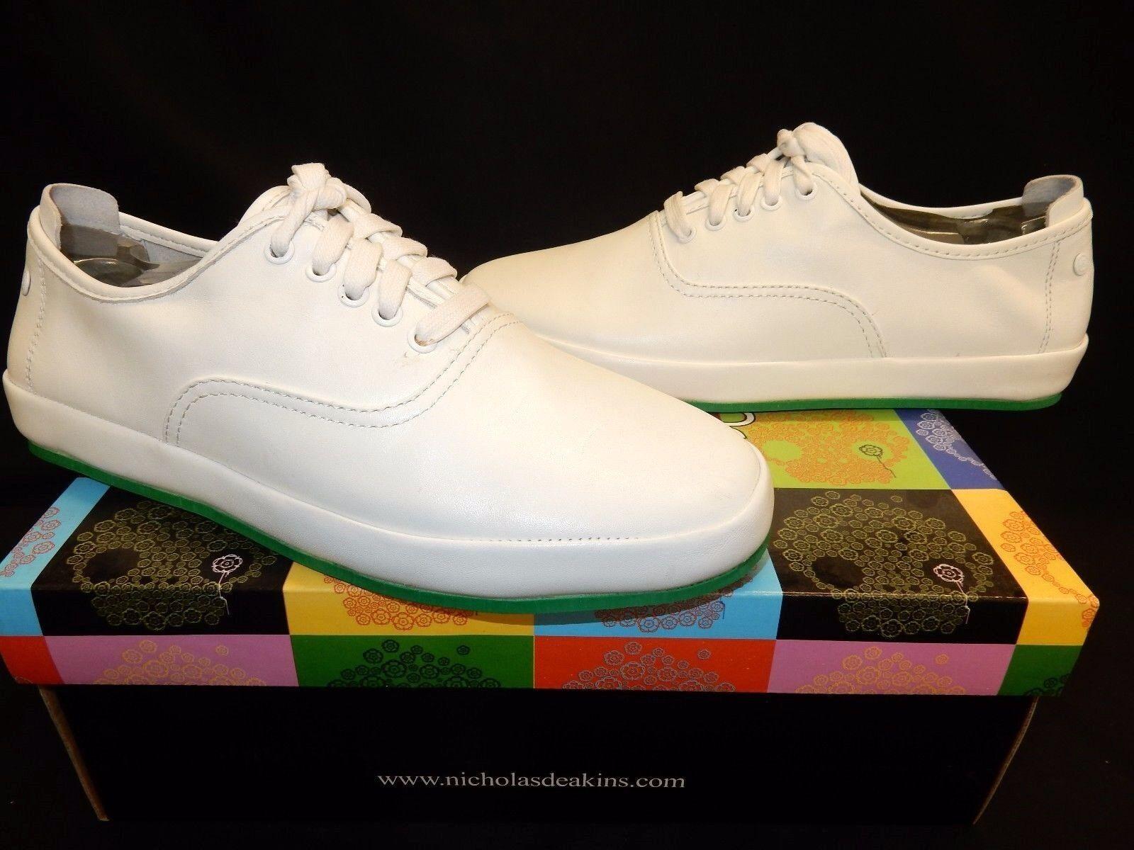 Mens Nicholas Deakins Seawolf Leather shoes RRP .95