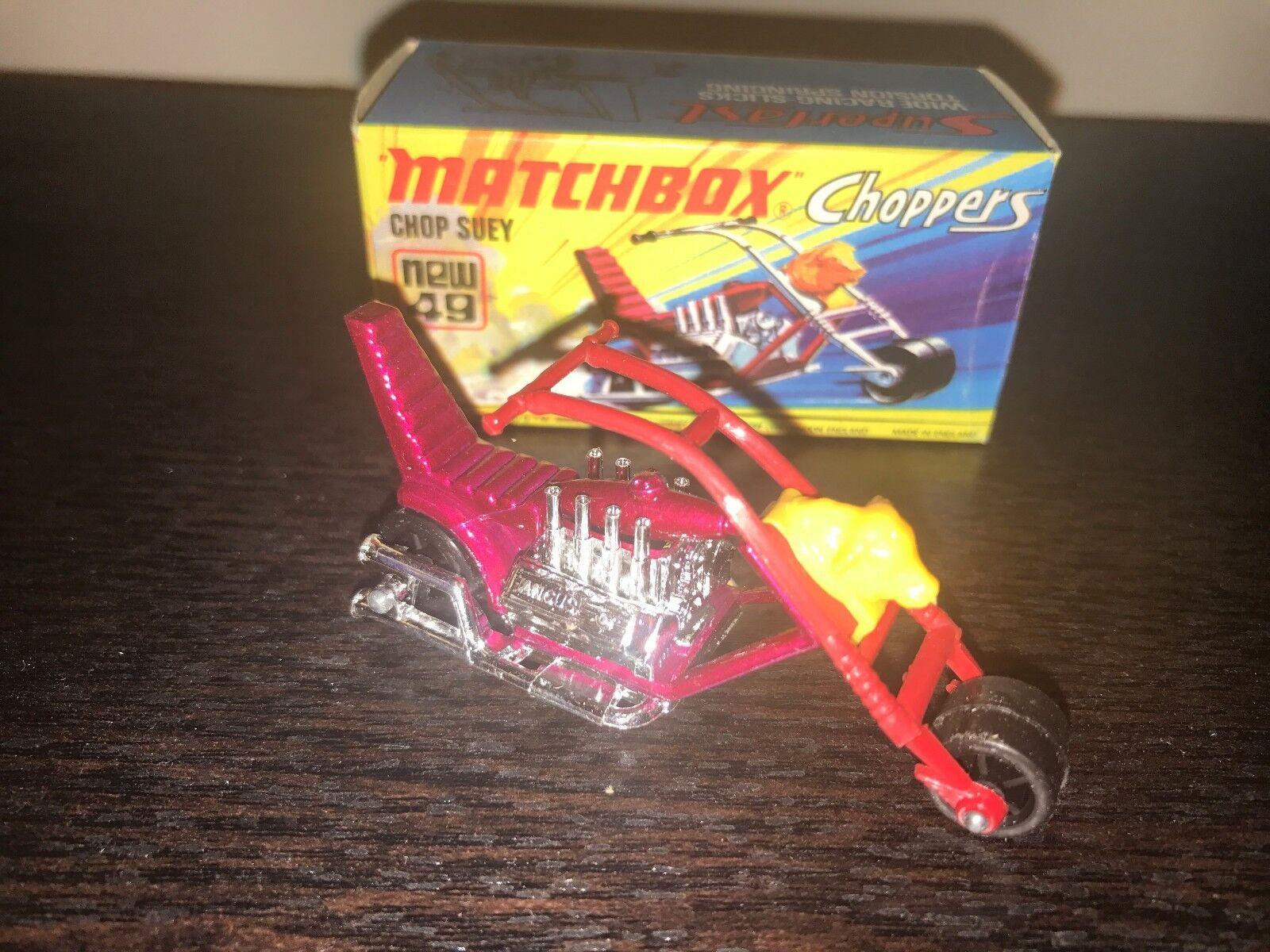 opciones a bajo precio Matchbox Helicópteros Chop sumisa Nuevo en en en Caja  49  bienvenido a elegir