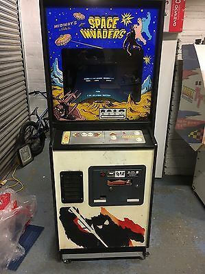 US Midway Working Space Invaders Arcade Cabinet