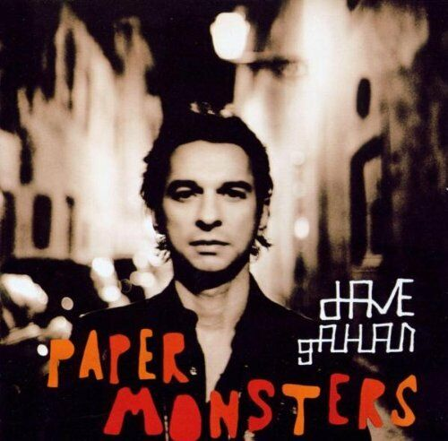 Dave Gahan ‎  Paper Monsters   Mute ‎Records CD 2003  CDSTUMM216