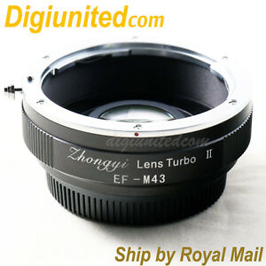 Zhongyi-Lens-Turbo-II-Reducer-Booster-Canon-EOS-EF-to-Micro-4-3-Adapter-MFT-OM-D