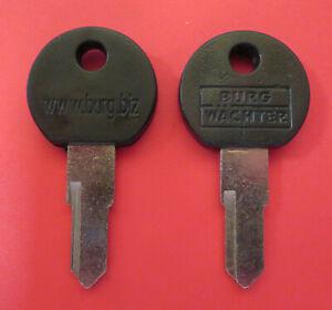1 Stück Schlüssel Rohling Burgwächter Links für Briefkasten Schlüsselrohling