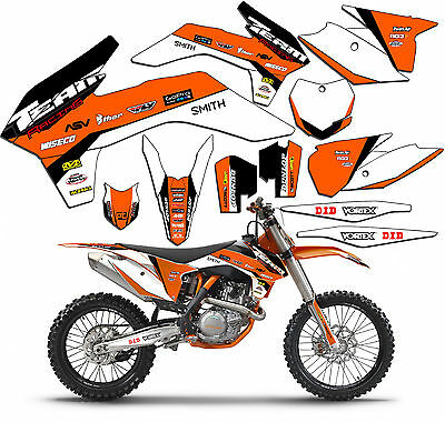 2003 KTM EXC 200 250 300 450 525 GRAPHICS SET DECO DECALS MX STICKERS