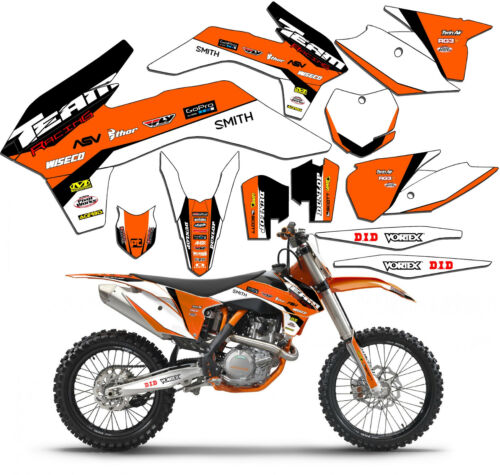 20142015 KTM EXCF 200 250 350 500 GRAPHICS KIT DECO DECALS DECOR MOTO