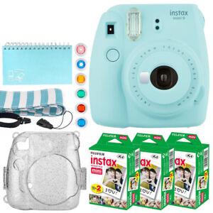 Fujifilm-Instax-Mini-9-Instant-Camera-Ice-Blue-Instax-60-Value-Bundle