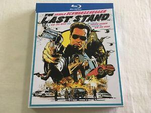 The-Last-Stand-2013-JB-Hi-Fi-Slipcase-Blu-Ray-Region-B-VGC-Rare