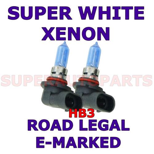 FITS VOLVO V50 2004-2005 SET HB3 XENON SUPER WHITE  LIGHT BULBS