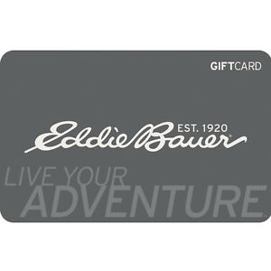 eddie bauer gift card 25 50 or 100 fast email delivery ebay